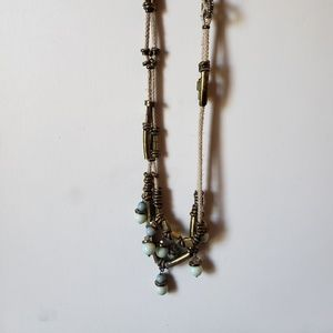 Anthropologie beachy beaded necklace